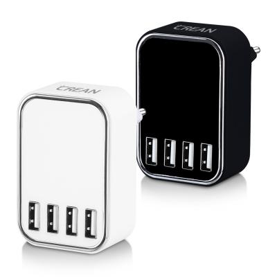 크레앙 스마트 IC 4포트 USB 충전기 (CREMU4P)