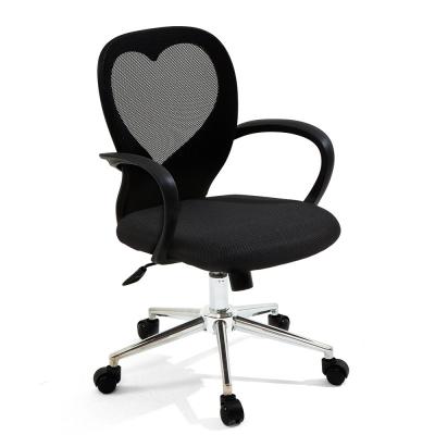 [다니카] 하트문 의자 CY-010 블랙