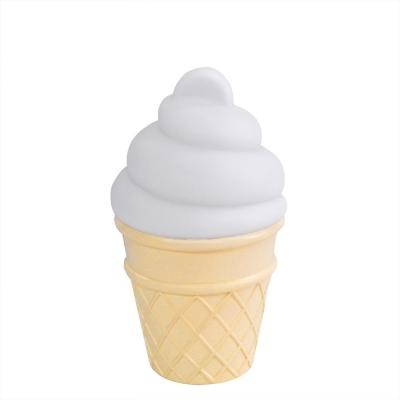 mini icecream lamp white