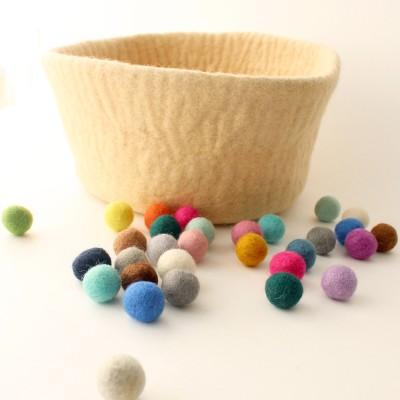 2cm 펠트볼(5ea) 72colors