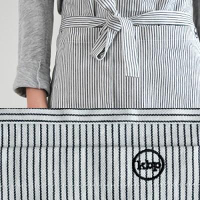 long apron illy white