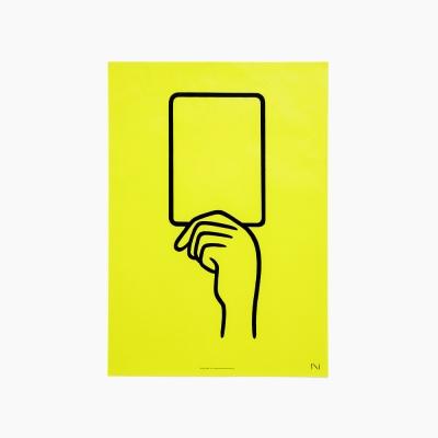 [noritake] YELLOW CARD B3 POSTER