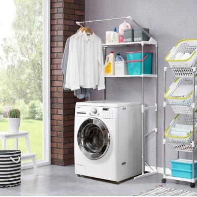 앳홈 더블기둥 세탁기 2단선반
