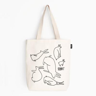 Rabbits : Canvas Bag