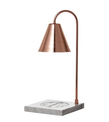 PLUTO6 천연대리석 빛조절 캔들워머-핑크골드