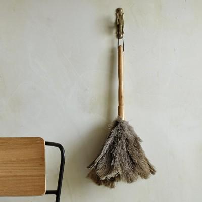 순수 타조깃털 먼지털이개
