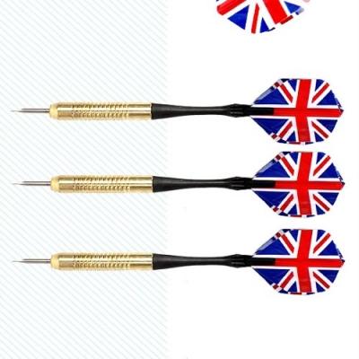 고급 메탈 잉글랜드 다트핀 영국 프로 다트핀 3개 세트_(602225984)