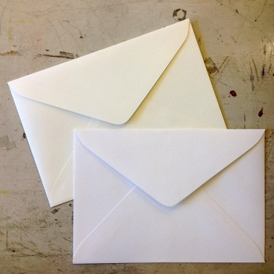 직사각형 카드봉투 (색상&매수 선택)
