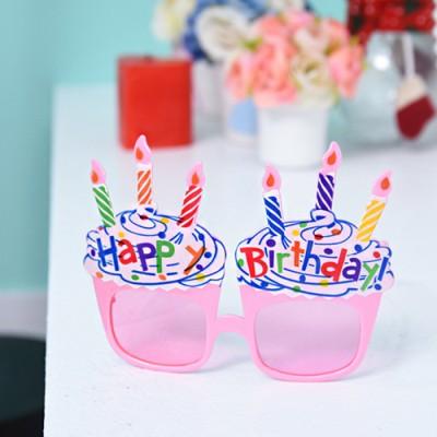 생일컵케익안경 [2color]