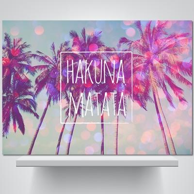 하쿠나 마타타(b) - 감성사진 폼보드 액자