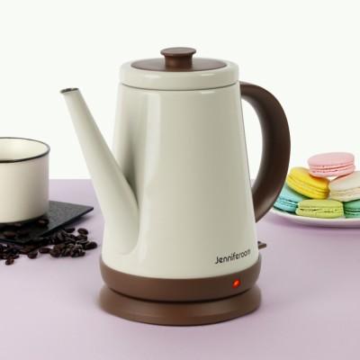 제니퍼룸 커피드립 전용 전기주전자 JR-K3805CB 크림베이지