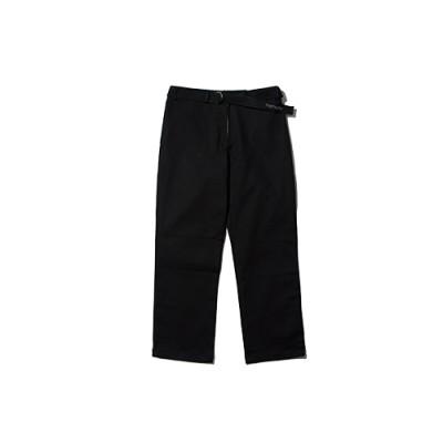 COTTON BELT PANTS_BLACK