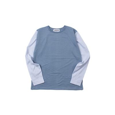 SHIRTS ROUND T-SHIRT_BLUE