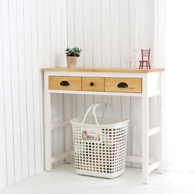 파파브라운 비안코 세컨 테이블