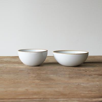 한식기 시리즈 - 밥공기&국그릇 세트 (화이트)
