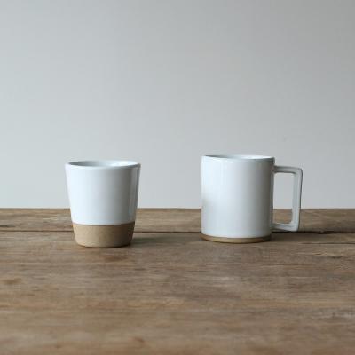 한식기 시리즈 - 컵 & 머크컵 (화이트)