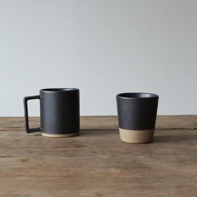 한식기 시리즈 - 컵 & 머크컵 (블랙)
