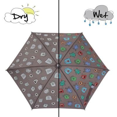 Holly & Beau 컬러체인징 우산 - 몬스터
