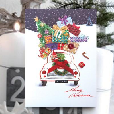 선물 크리스마스카드 FS1025-5