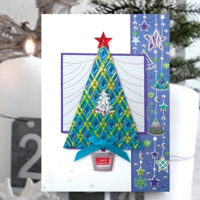 청츄리 크리스마스카드 FS1025-4