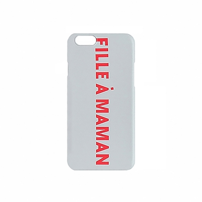 Fille à Maman iPhone case