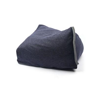[blackmayonnaise] Double Knit Cushion_Navy