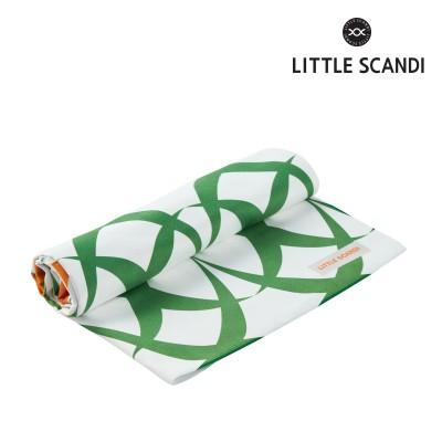 리틀스칸디 아기 목욕타올-정글플로라