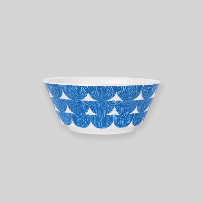 Ocean blue wave bowl M