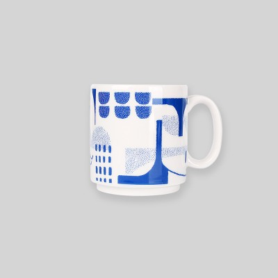 Night sea bridge mug