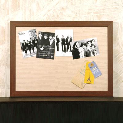 벽걸이자석메모판(내츄럴브라운)