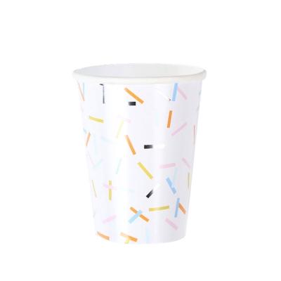 스프링클스 컨페티 종이컵(12p)