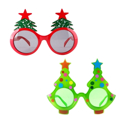 크리스마스 트리 안경