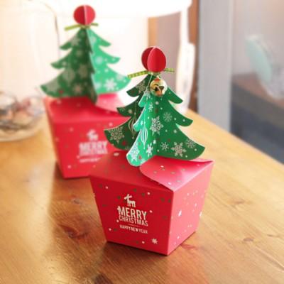 크리스마스 메리트리 상자 소 / 중 (3개)