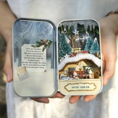 [adico] DIY 미니어처 드림박스 - 크리스마스 인형_(617331)