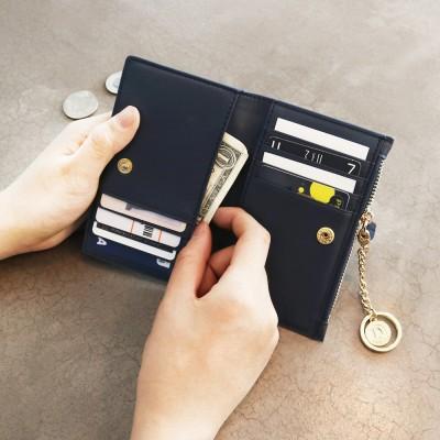 [★별자리 키링 증정] D.LAB Coin Card wallet - Navy