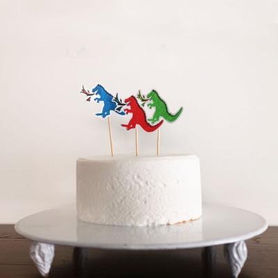 오 파티 케이크 토퍼-공룡
