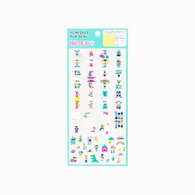 [AIUEO] Schedule pop seal index - CHIBI365