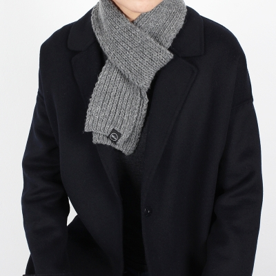 [1+1] wool 60% mini muffler