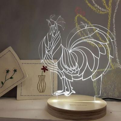 사랑한 닭