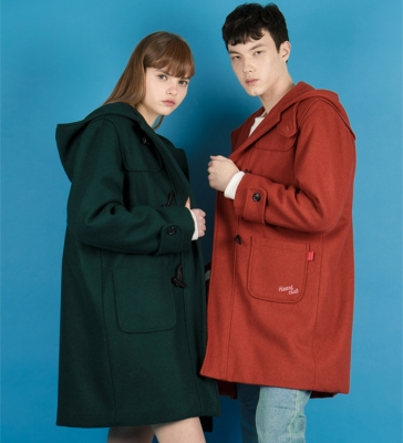 Heart Duffle Coat(3colors)