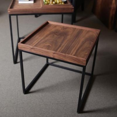 [퍼니매스] Walnut Tray Side Table (월넛 트레이 테이블)