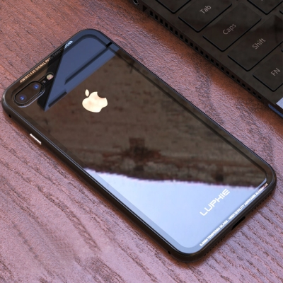 루피 아이폰7/7플러스 나노글라스 메탈 케이스_(754099)
