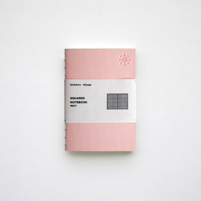 백상점 squared notebook petit 쁘띠노트