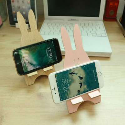 스마일 토끼 휴대폰 거치대
