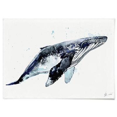 패브릭 천 포스터 F018 동물 인테리어 그림 고래