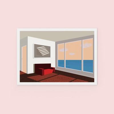 Room - POSTCARD