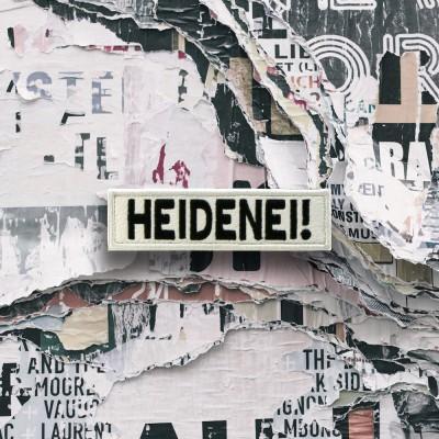 HEIDENEI! LOGO [Velcro it patch]
