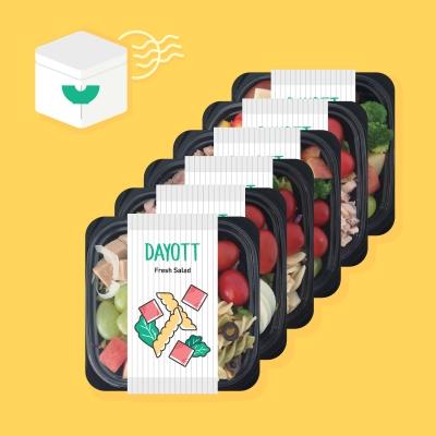 샐러드 도시락 정기배송 프로그램