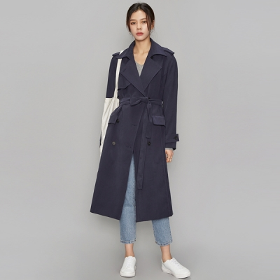 french mood trench coat (2 colors)_(508067)