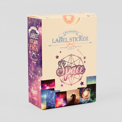 Label Sticker Pack-26 Space